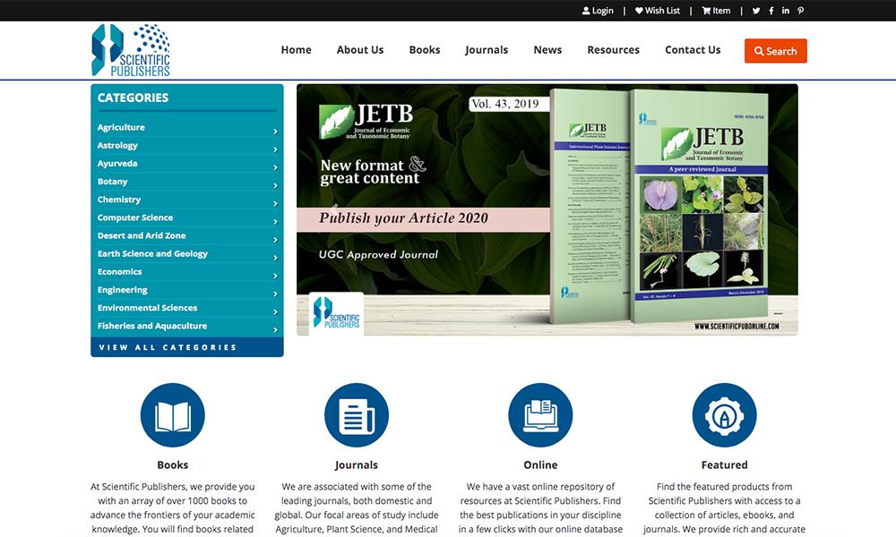 Scientific Publishers
