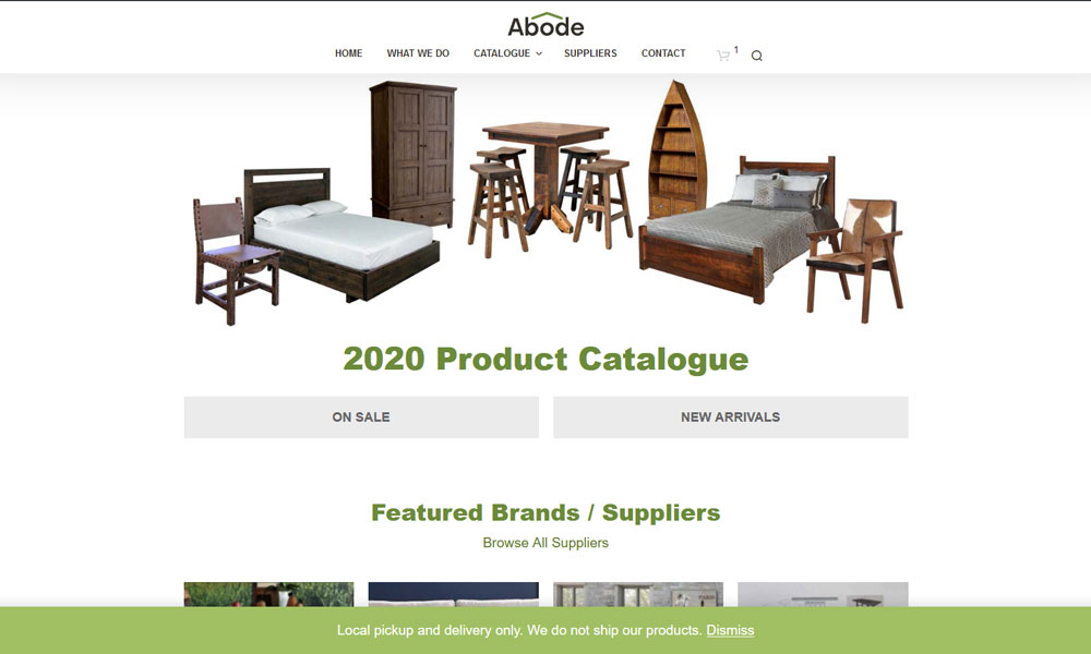 Abode Crafted Wood Furnishings