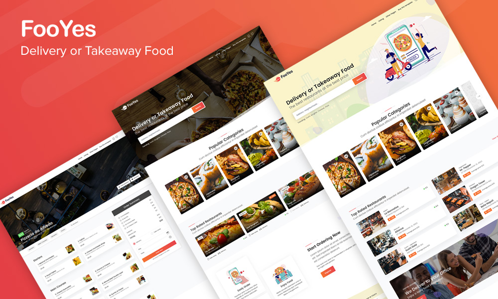 FooYes - Delivery or Takeaway Food