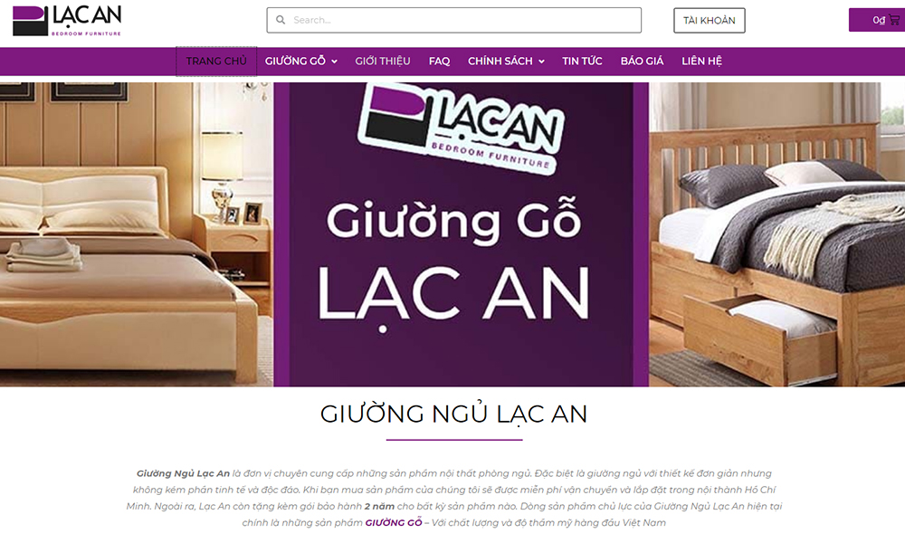Lac An Bed