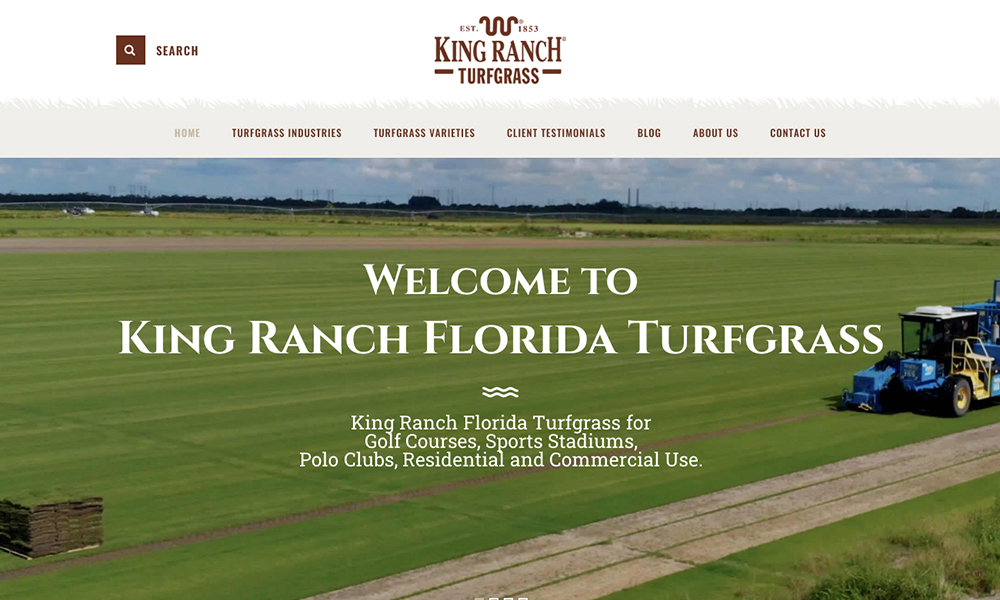 King Ranch Florida Turfgrass