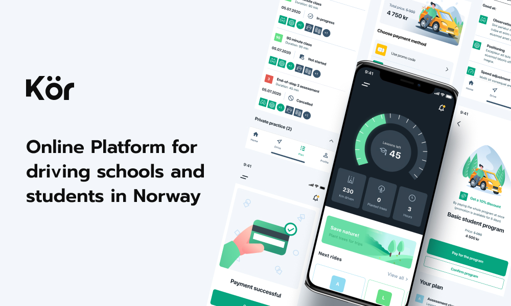 KOR - first-ever educational platform for drivers in Norway