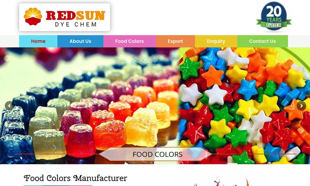 Red Sun Dye Chem