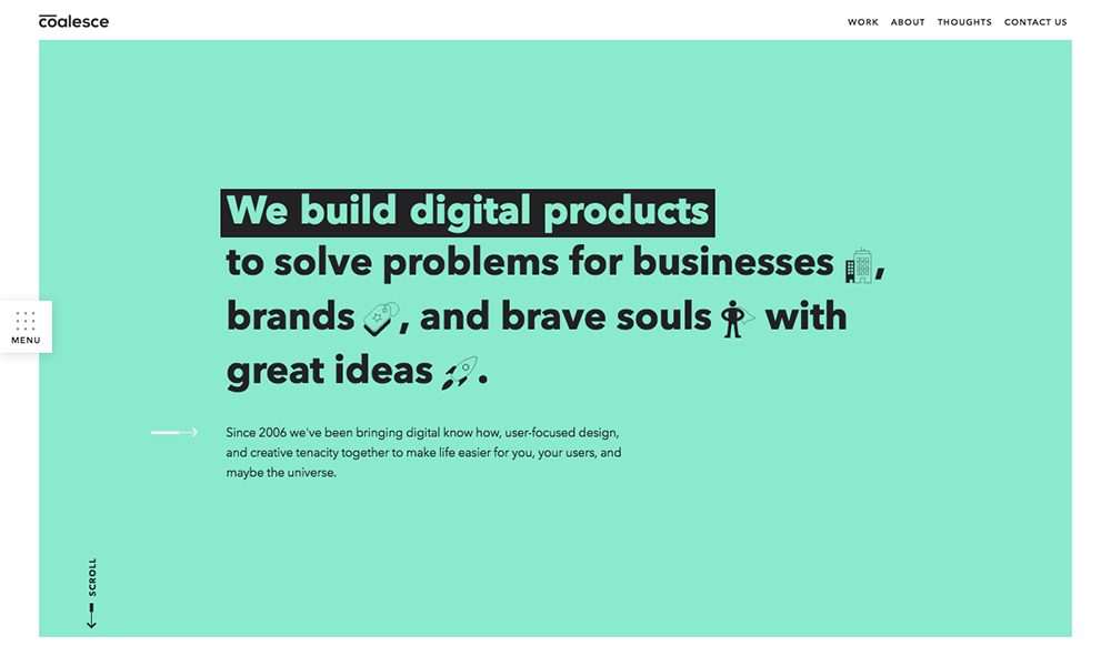 Coalesce | Digital Product Agency in NYC