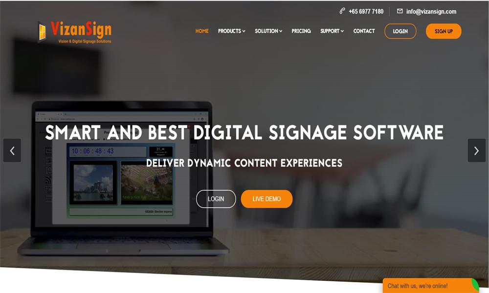 VizanSign Digital Signage