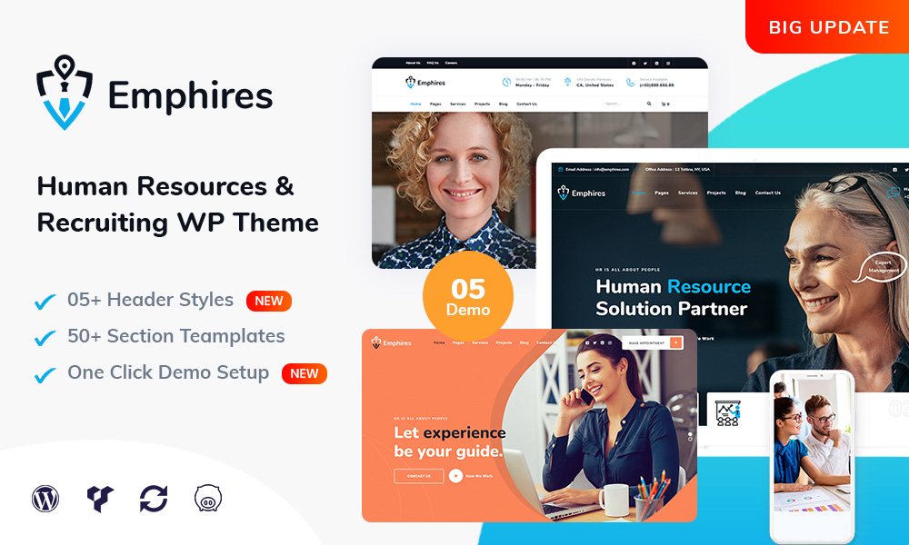 Emphires - Human Resources & Recruiting Theme