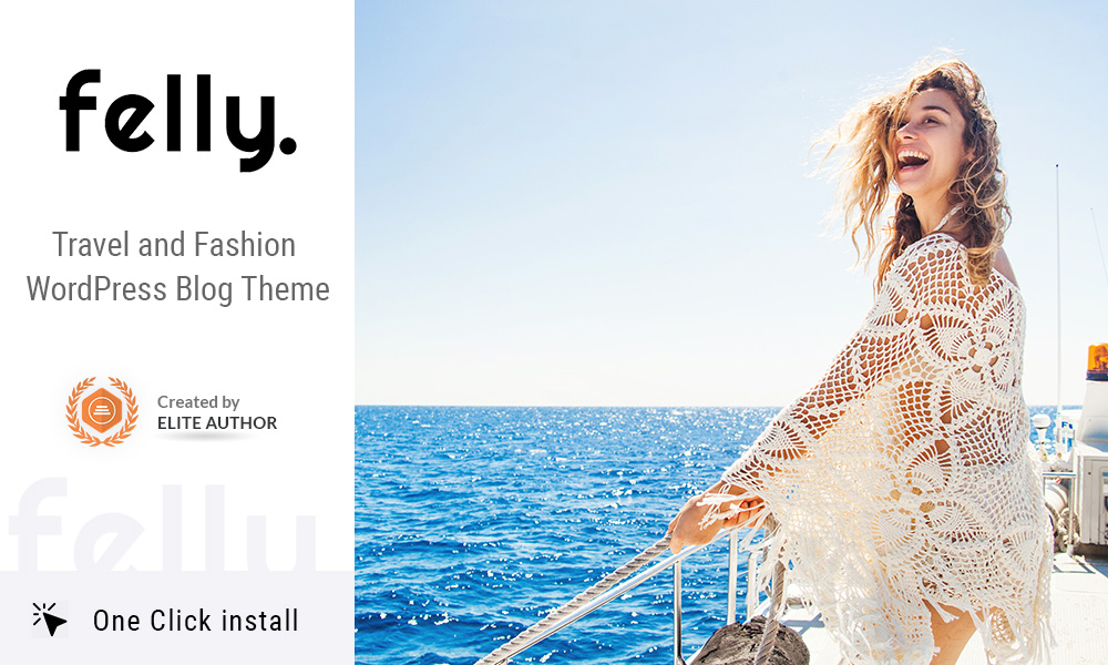 Felly | Travel and Fashion WordPress Blog Theme