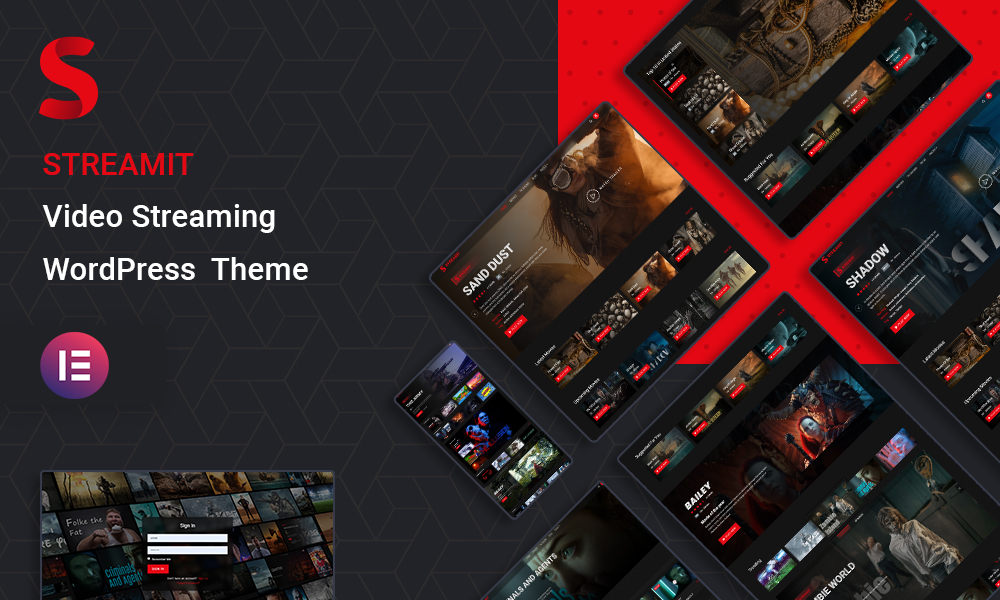 Streamit | Video Streaming WordPress Theme