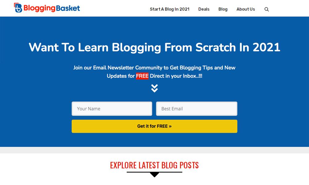 Blogging Basket