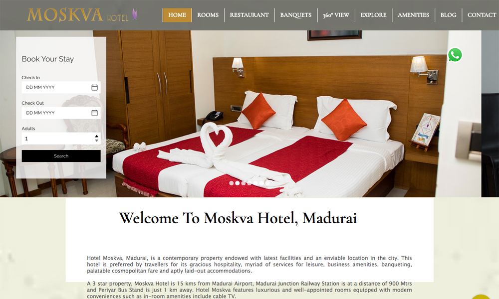 Hotel Moskva Madurai