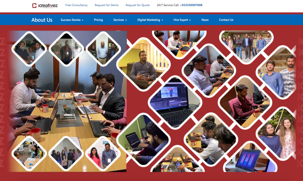 Icreativez Web development Agency