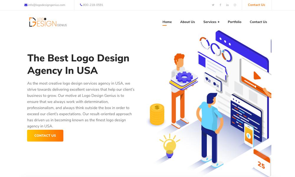 Logo Design Genius