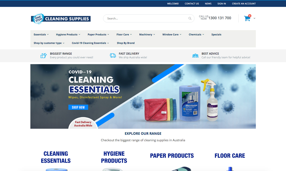 One Stop Cleaning Supplies