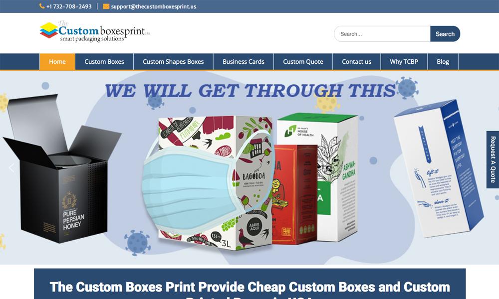 The Custom Boxes Print