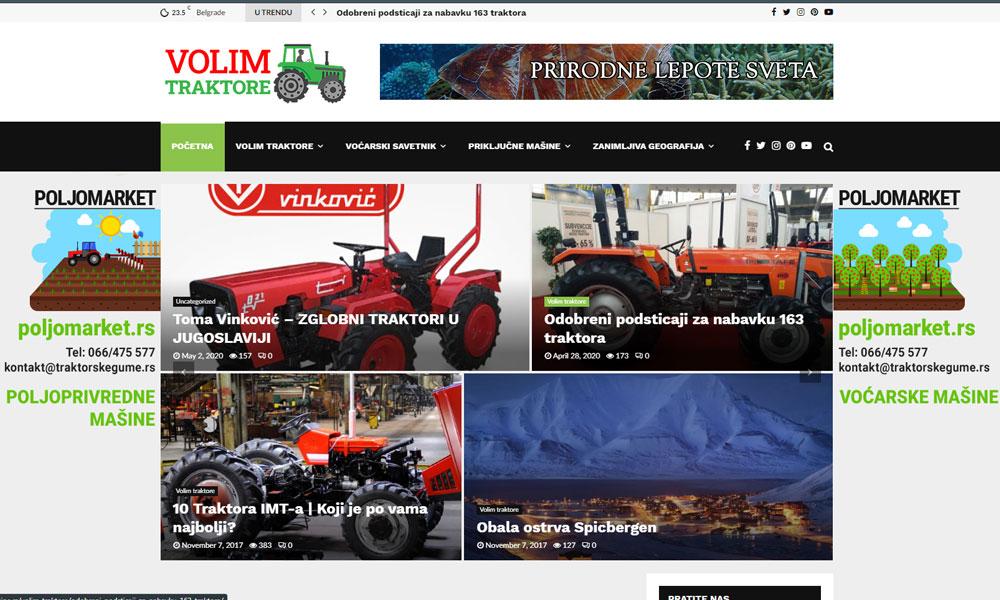 Traktori prikljucne masine