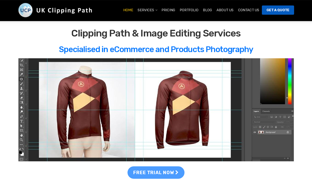 UK Clipping Path