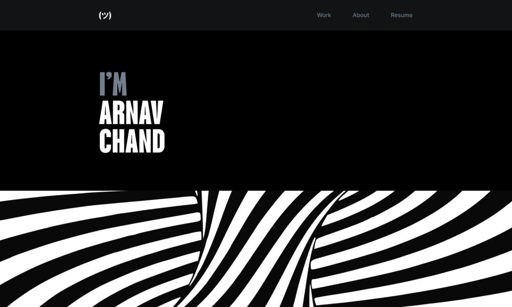 Arnav Chand Design portfolio