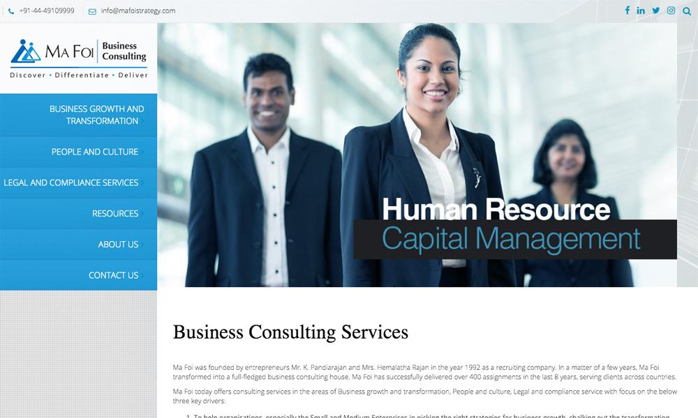Business Consulting Service Company | Ma Foi