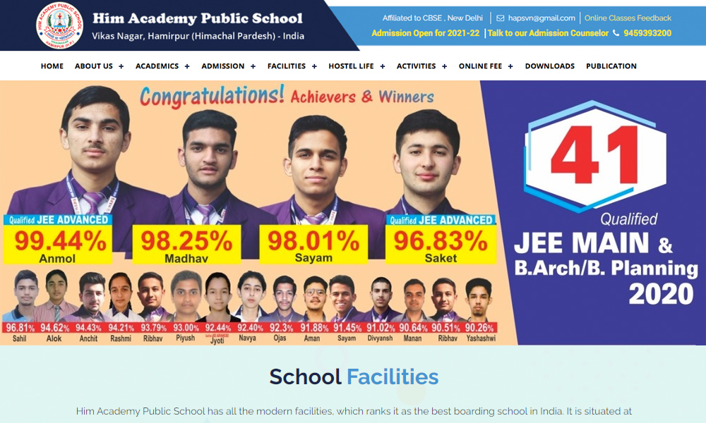 Him Academy School