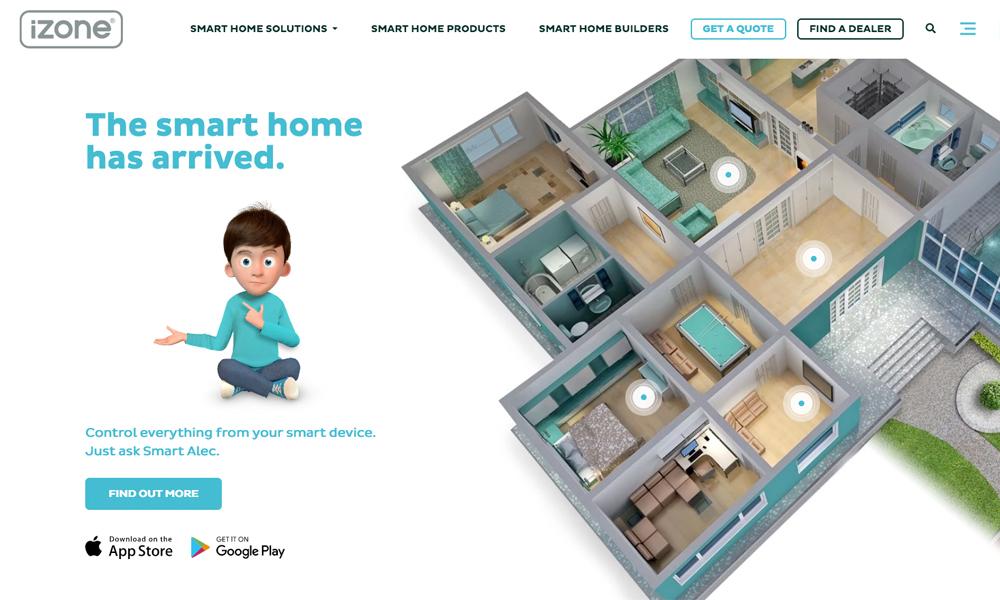 iZone - Come home to a smart home