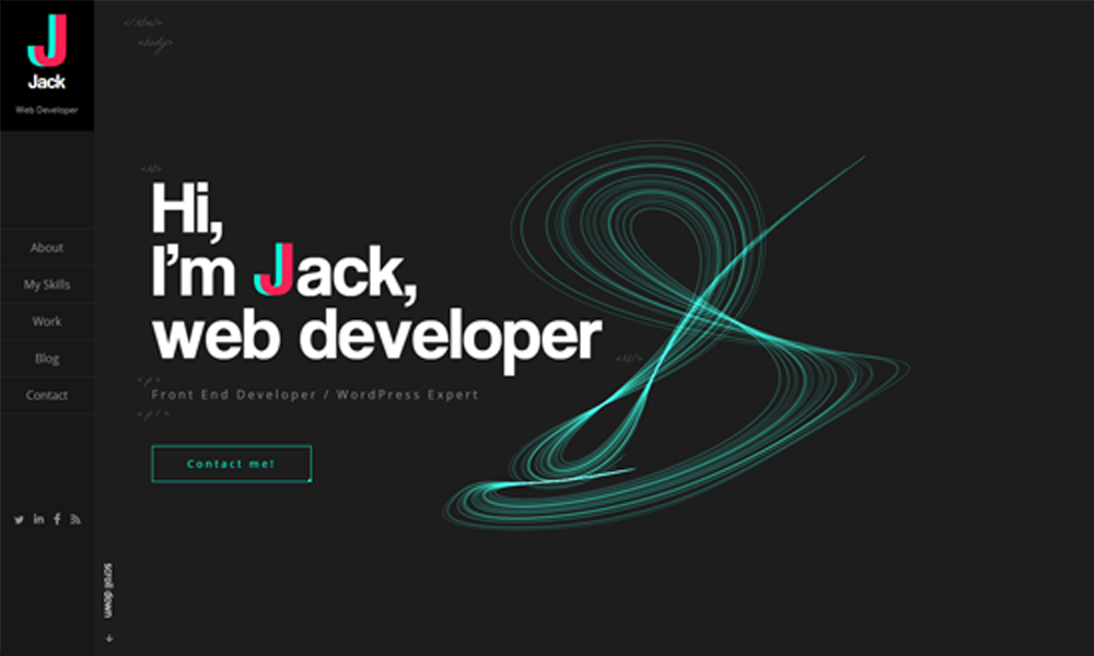 JJ - Web Developer Portfolio
