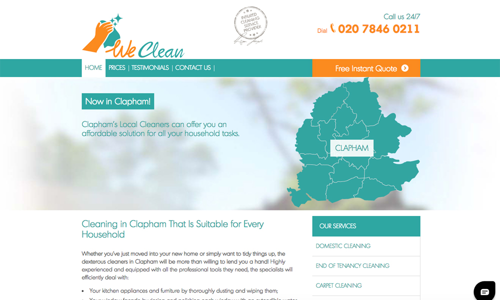 Local Cleaners Clapham