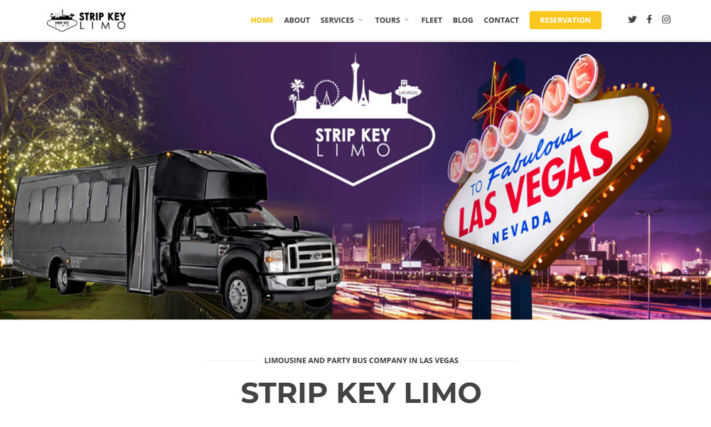 Strip Key Limo