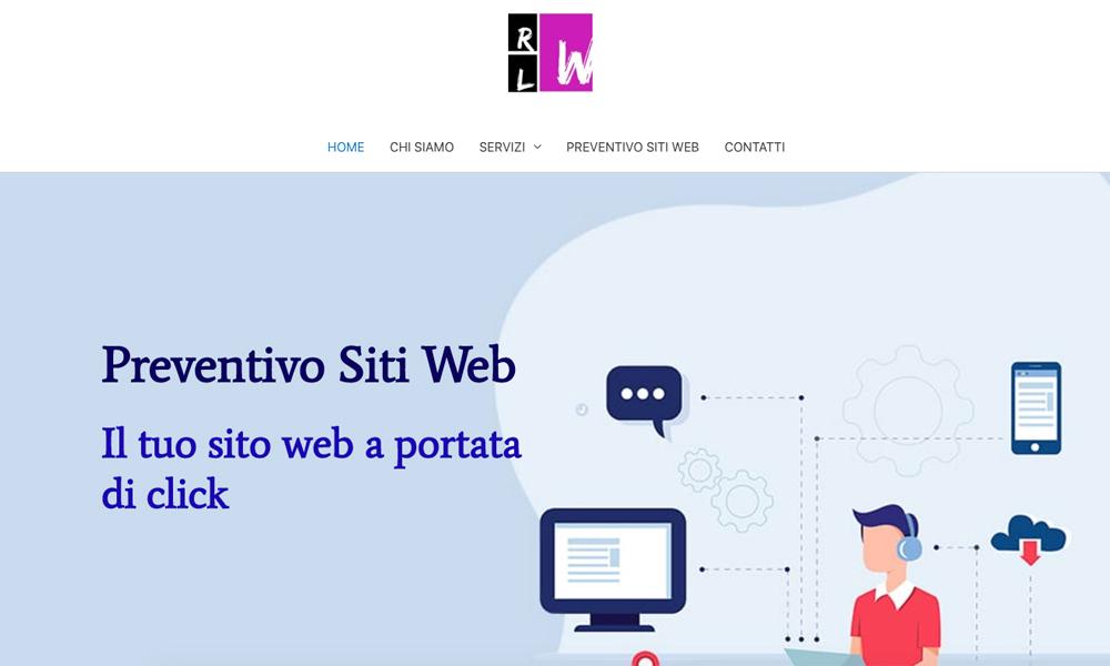Preventivo Sito Web Personalizzato