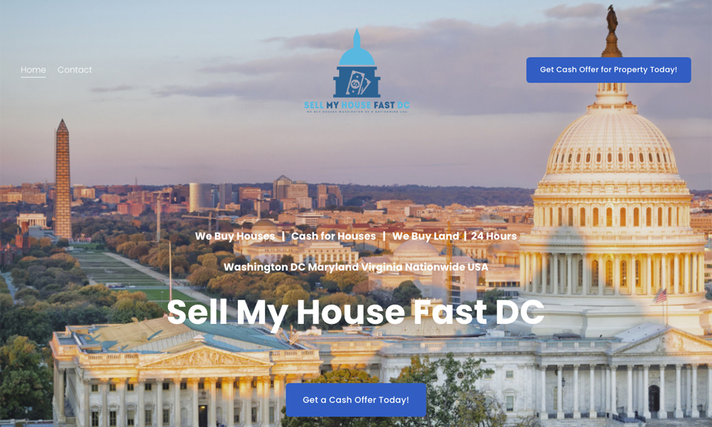 Sell My House Fast DC