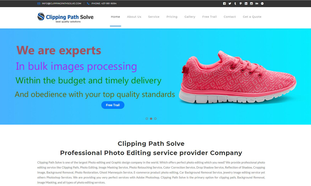 Clipping Path Solve