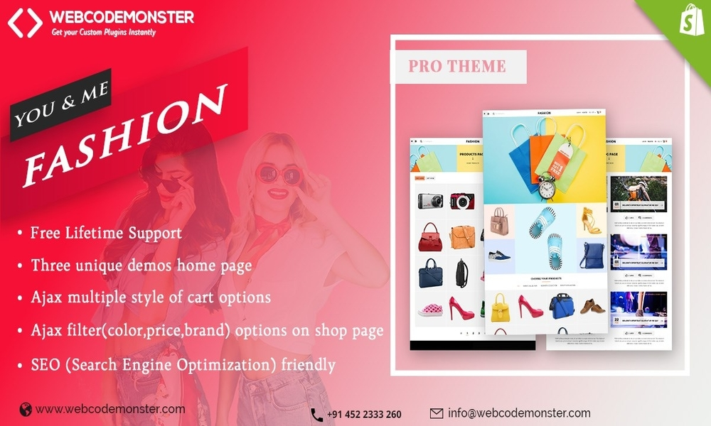 Clothes Fashion Template