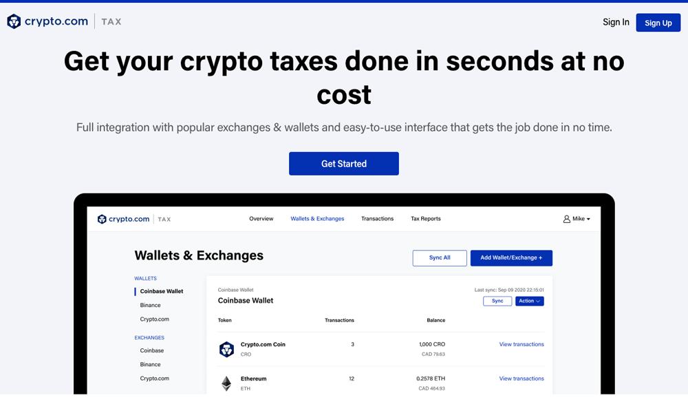 Crypto.com Tax