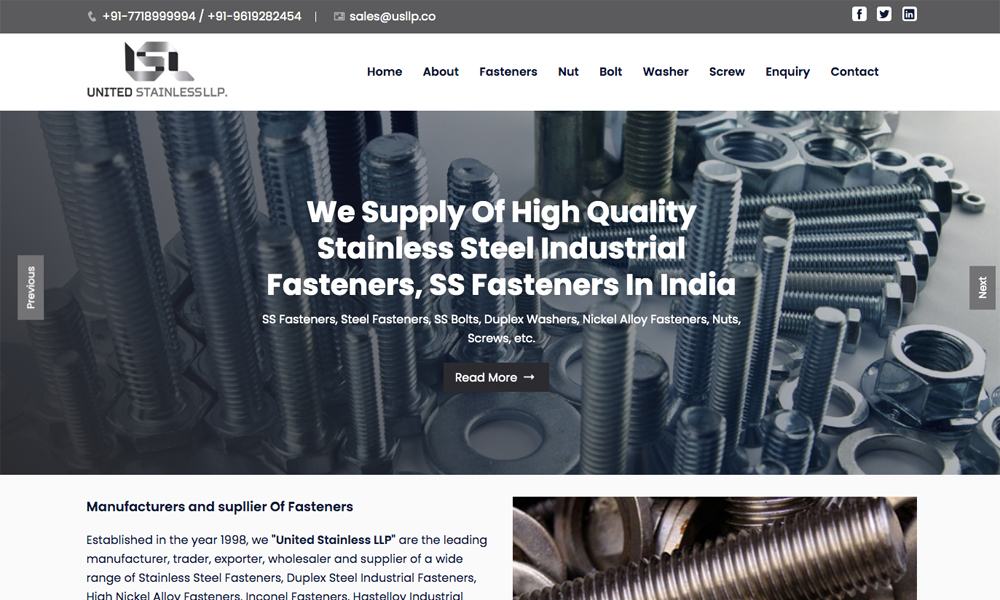 Fasteners Manuafcturers