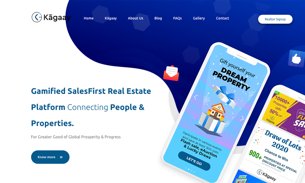 Kagaay Property Sale & Real Estate App