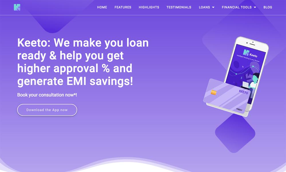 Keeto: Improve Credit Score, Money Manager & Loans