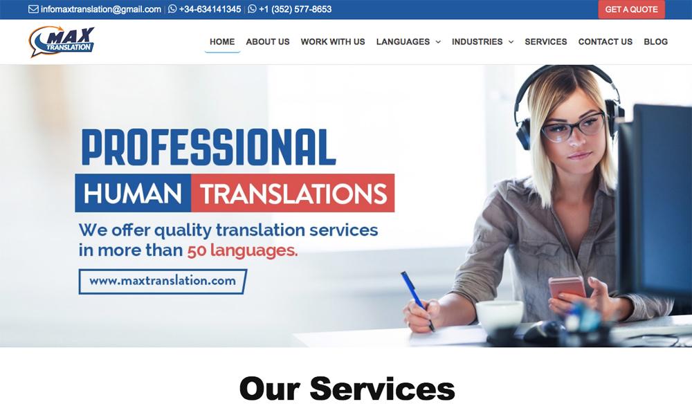 Max Translation