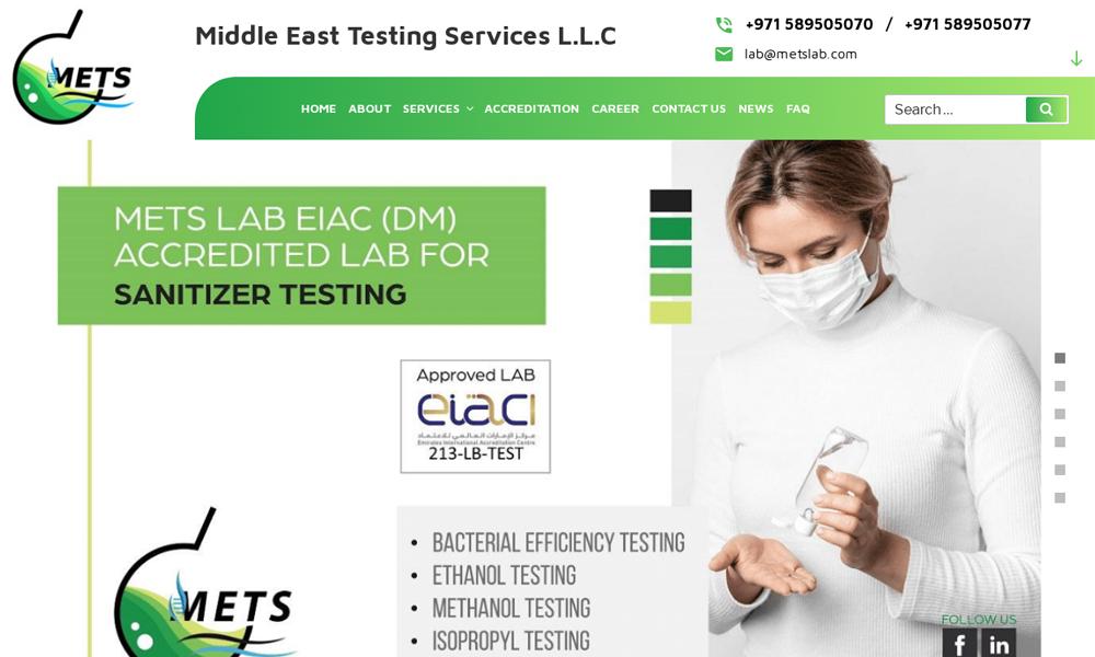 Middle East Testing Services L.L.C