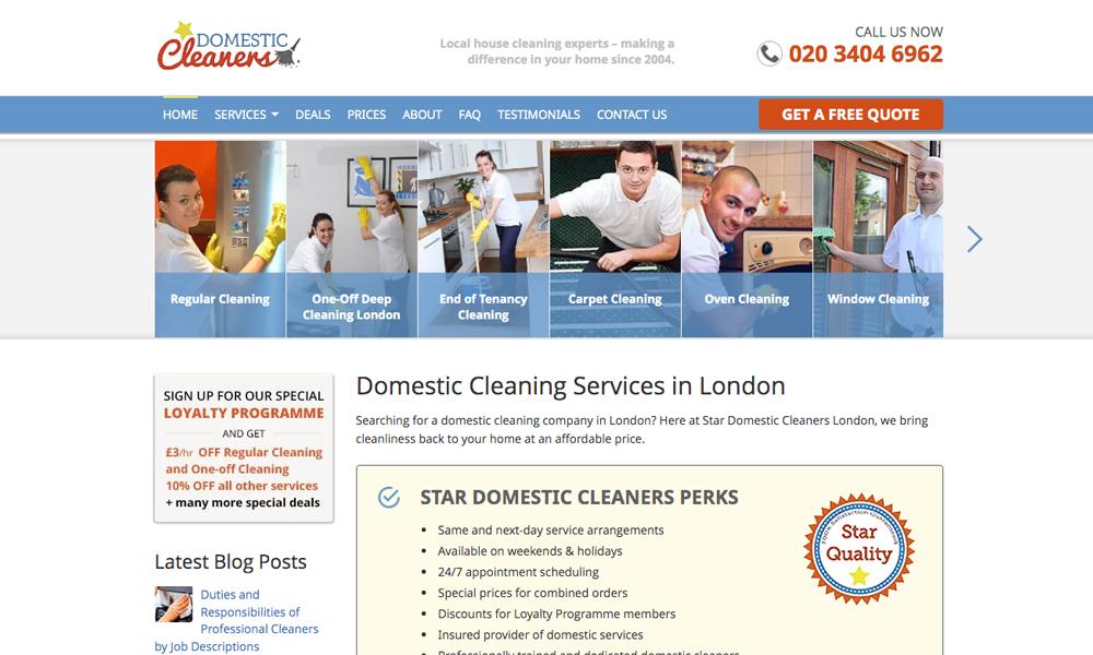Star Domestic Cleaners Ltd.