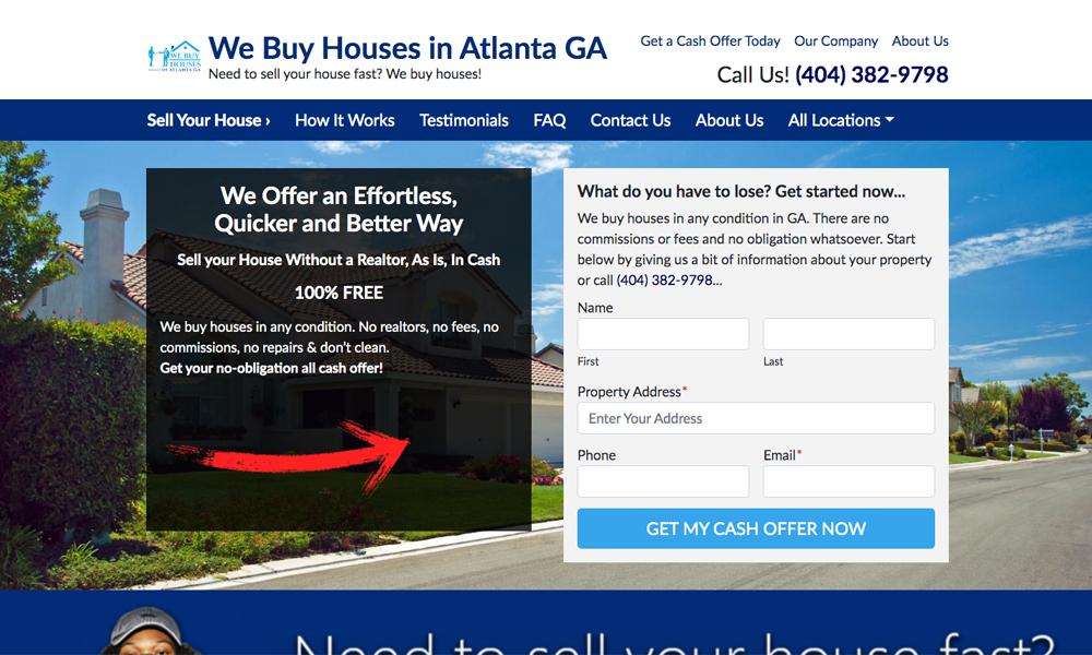 We Buy Houses In Atlanta GA