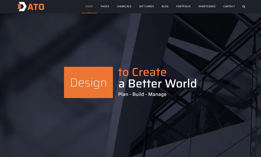 ATO Lite - WordPress Construction Theme Free