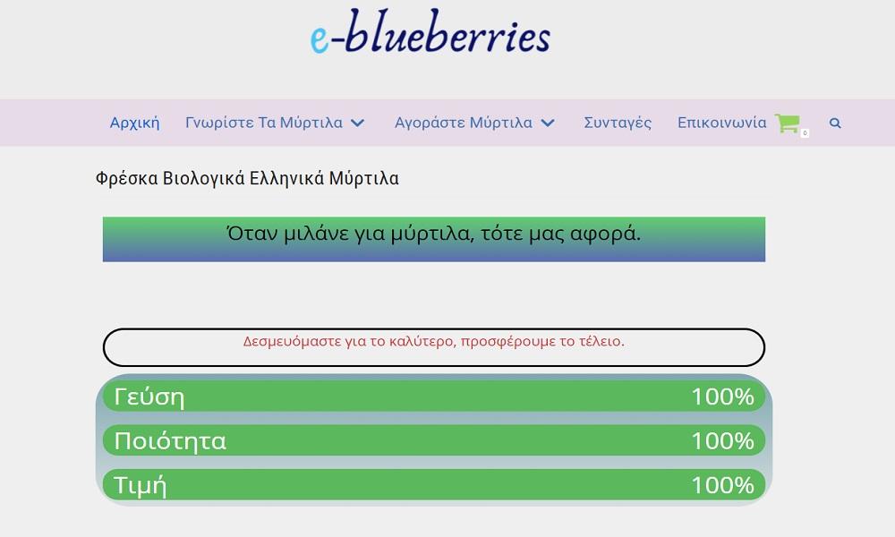 e-blueberries