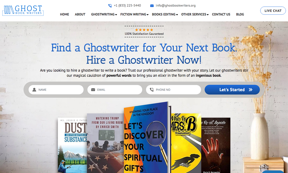 Ghost Book Writers - Ghostwriting Services
