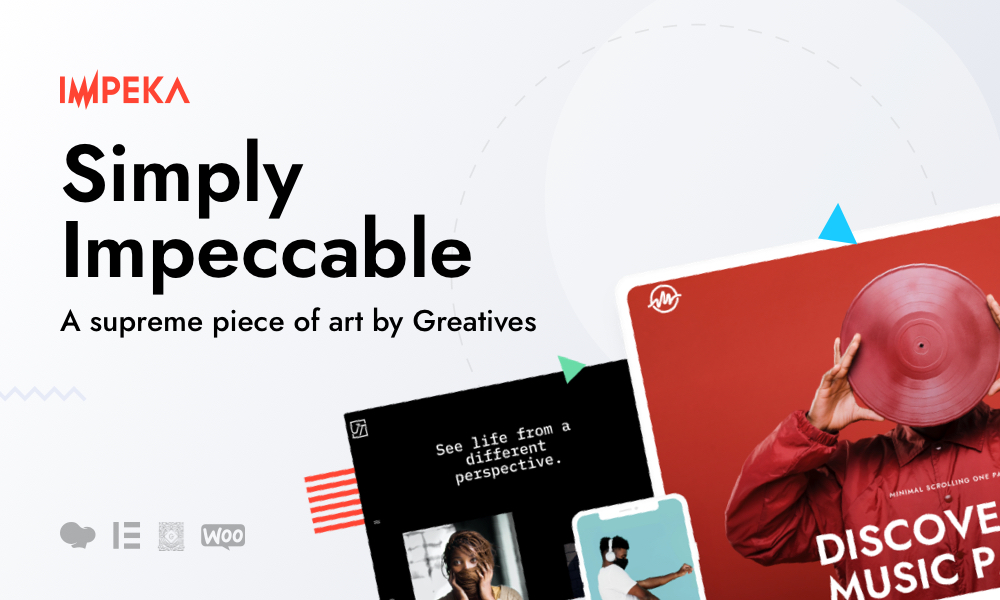 Impeka - Creative Multi-Purpose WordPress Theme