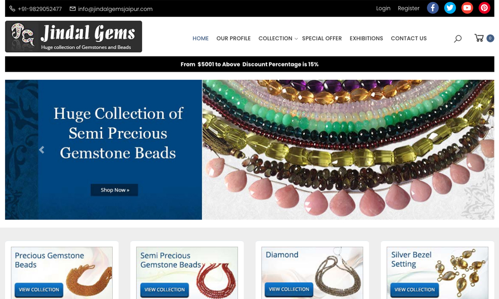 Jindal Gems - Gemstone Wholesaler