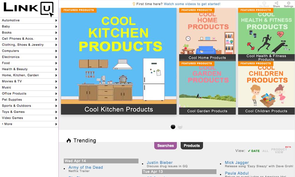 LinkU - Online Shopping