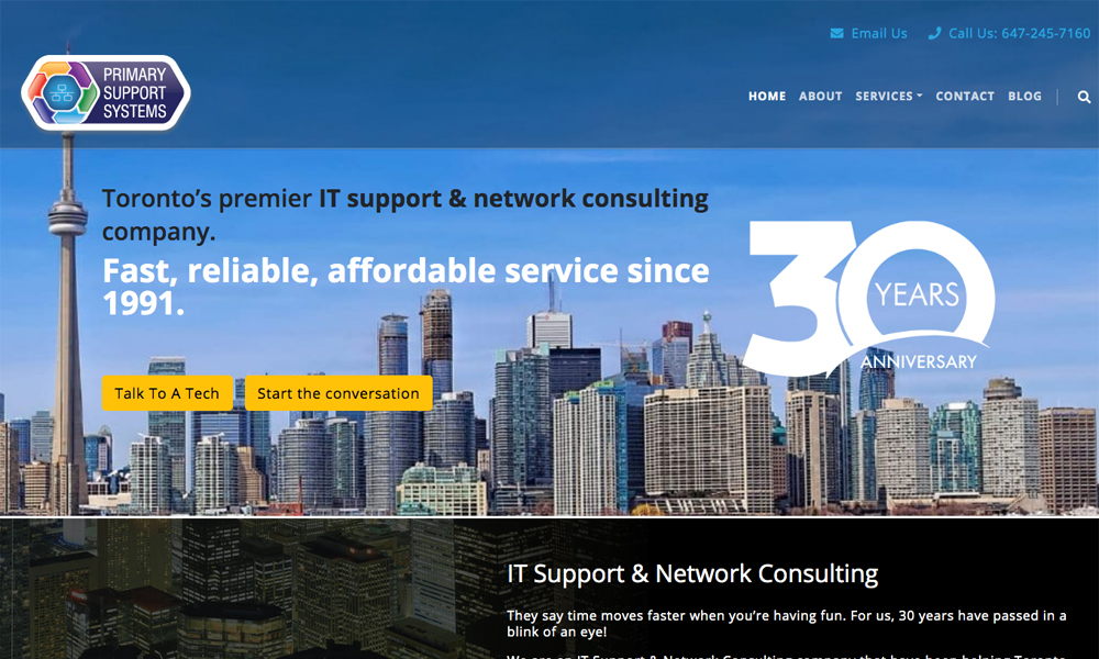 Primary Support Systems Inc