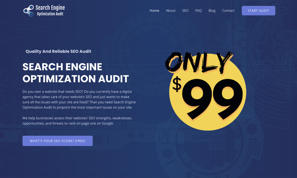 search engine optimization audit