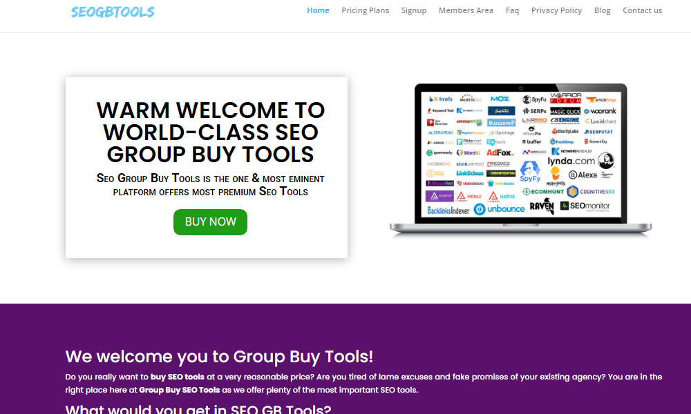 SEO Group Buy Tools