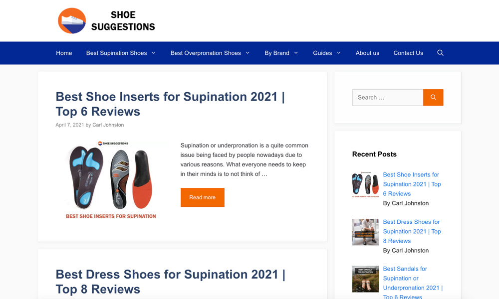 Shoe Suggestions