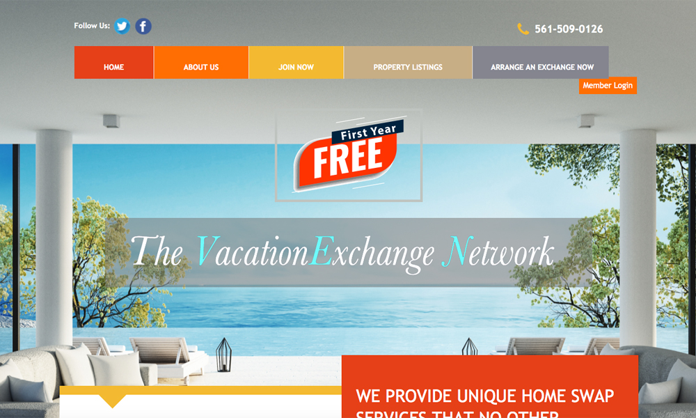 The Vacation Exchange Network